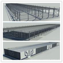 Bâtiment préfabriqué en acier à faible coût