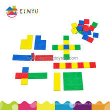 Math Manipulatives Toy, 1 Inch Color Square Tiles for Education