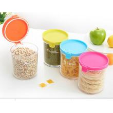 Großhandel anpassbare Form entwickelte, umweltfreundliche Lebensmittel Kosmetik Plastikglas