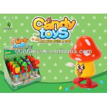 Enrole brinquedos de doces de frutas