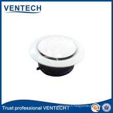 Vanne de disque d'air d'alimentation d'ABS de diffuseur d'air de ventilation de systèmes de CVC