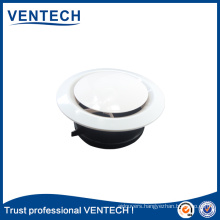 HVAC Systems Ventilation Air Diffuser ABS Supply Air Disc Valve