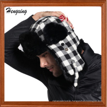 Winter Hats with Earflaps and Flat Peak (DSS046)