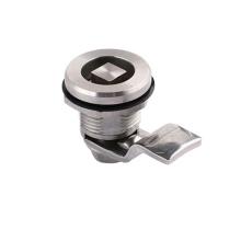 Triangle lock core small impact tubular cam lock