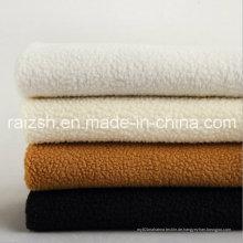 Lamm Plüsch Stoffe gefärbt Polyester Bekleidung Schuhe Futter Stoff