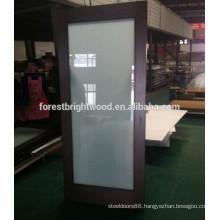Sliding Door Type and Sliding Glass Barn Door for Hotel Bathroom Door