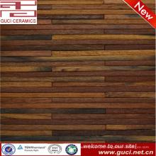 2016 novo produto longo tira telhas de madeira para o projeto da parede