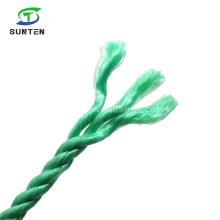 High Quality Strand Twisted/Twist Green PP/Polypropylene Splitfilm/Split Film Rope for Agriculture Packing