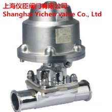 Stainless Steel Pneumatic Sanitary Clamp Diaphragm Valves
