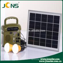 JCN patentado diseño de alta calidad pequeño generador de energía solar