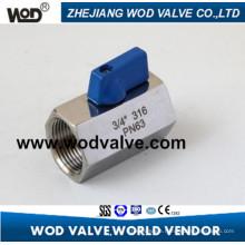 F Stainless Steel Mini Ball Valve