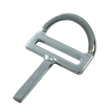 226 45 Grad Bent Stamped Flat D Ring mit geschweißter Bar