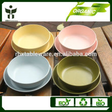 natural living bamboo fiber bowl