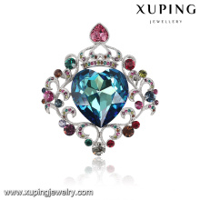 00039-xuping fahion big jewelry Crystals from Swarovski, crown brooch