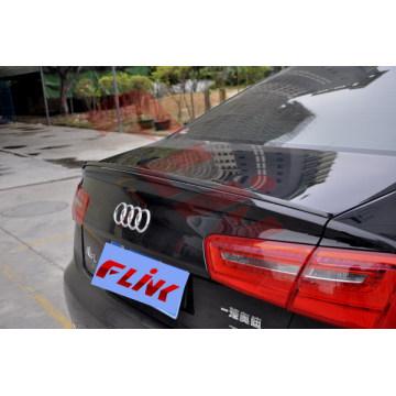 Alerón de la fibra del carbón para las piezas de automóvil de Audi A6 / A6l / S6