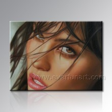 Öl Porträt Malerei aus Ihrem Foto