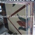 1500 * 2500mm cnc cantilever tipo de mármore e telha cerâmica medallion waterjet máquina de corte