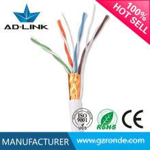 Hohe Qualität 100m / 305m 8 Kerne 0.5mm CCA BC Kupfer 4-Paar cat5e stp Kabel