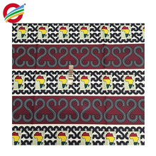 Pure polyester Tear-Resistant veritable african print wax fabric