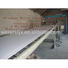 PVC free foamed board machine