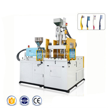 Multi Color Tandborste Injektion Plast Moulding Machine