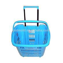 Sofisticada tecnología personalizada China Manija plástica Baske Mold Basket Moldes