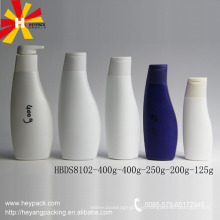 125г / 200г / 250г / 400г hdpe пустая пластиковая бутылка шампуня
