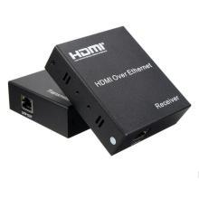 120m HDMI Extender Over TCP/IP avec télécommande infrarouge