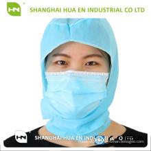 Disposable PP non woven astronaut cap with mask