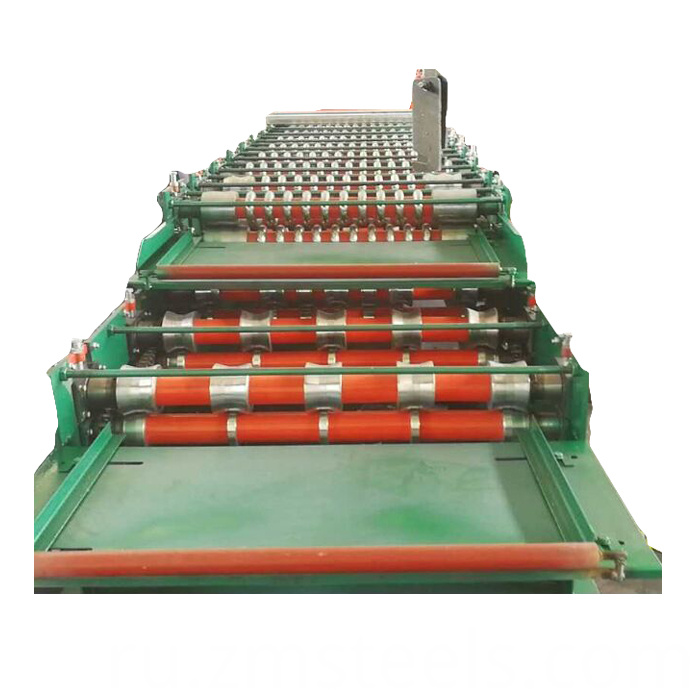 glazed tile roll forming machine design