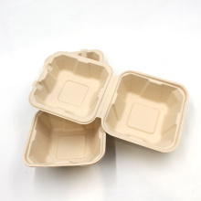 bagasse food container biodegradable  tableware for wholesale