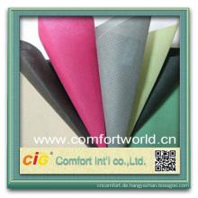 Neue Mode design ziemlich bunten Ningbo pp hergestellten (spunbonded) Vliesstofftuch