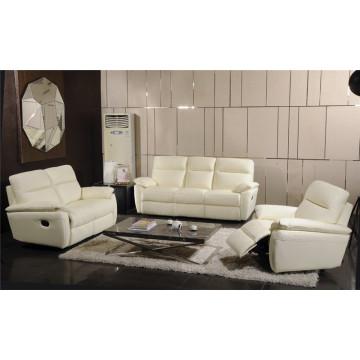 Sofá elétrico reclinável EUA L & P sofá do mecanismo para baixo do sofá (739 #)