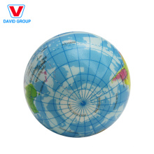 Förderungskugel Kundenspezifischer PU-Anti-Druck-Ball mit nettem Logo-Drucken