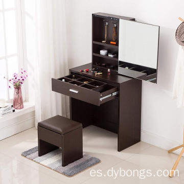 New designs makeup dressing table with drawers