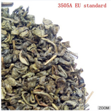 Chinese green tea gunpowder seris 3505A with EU standard