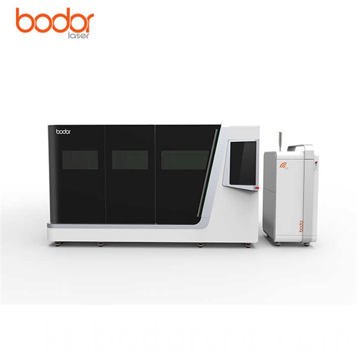 Metal fiber laser cutter machine 15kw