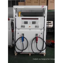 Zcheng Win Series Dispensador de combustible doble bomba cuatro boquilla