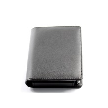 Популярные бизнес-кожаный блокнот, записная книжка с ручкой