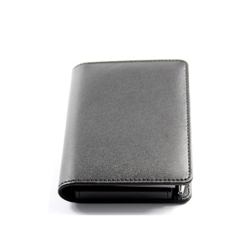 Popular Business Leather Notepad, Memo Notepad with Pen