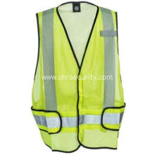 High Visibility Adjustable Waist Safety Vest