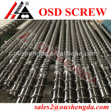 LDPE single screw barrel /bimetallic screw barrel for film blowing machine