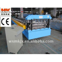 Colored steel circular arc plate roll forming machine