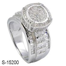 Nouvel anneau de bijoux fantaisie en argent 925