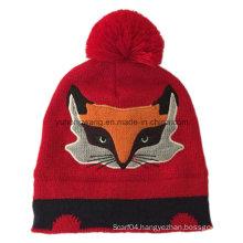 Winter Warm Lady Acrylic Knitted Beanie Skull Hat/Cap