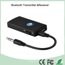 Top vender receptor transmissor de áudio bluetooth com jack de 3,5 mm (bt-010)