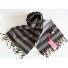 100% laine Yak tricoté rayé / Cachemire / laine / Yak Foulards / Textile / Tissu