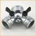 Garden brass irrigation valves