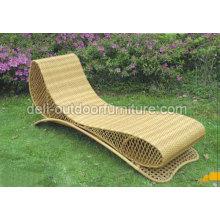 Outdoor Rattan Sunbed Complete Color Furniture