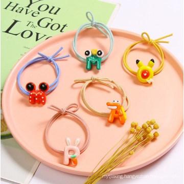 Cute Cartoon Letter Hair Tie